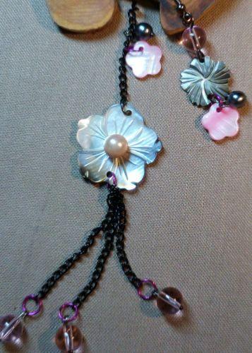 """Асимметричные серьги """"Серебристый цветочек"""""""