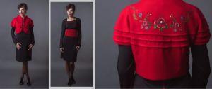 Платье и камизоля (жилет)