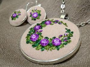 Фиолетовый венок