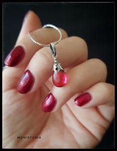 Кулоны ручной работы Кулон с розовым кварцем (без цепочки)