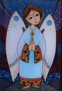Мальовані картини Світло янгола