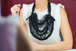 Ожерелье из текстиля Каучук 1