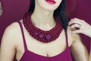 Ожерелье из текстиля Pectoral 3