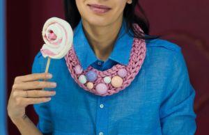 Ожерелье из текстиля Pectoral 5