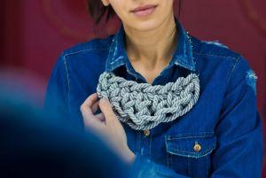Ожерелье из текстиля Charme 3