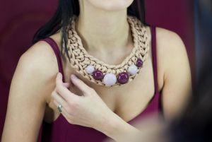 Ожерелье из текстиля Pectoral 4