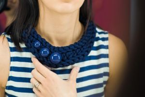 Ожерелье из текстиля Pectoral 2