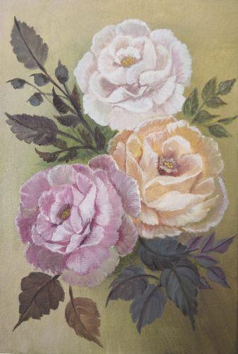 Дамасские розы - изображение 1