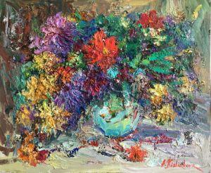 Кислякова Алла Осенние цветы