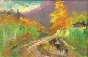 Нарисованные картины В горах