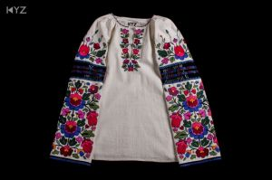 KYZ Xclusive Design Дизайнерская стилизованная борщевская рубашка