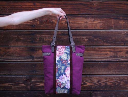 Текстильно - шкіряна сумка BC 002