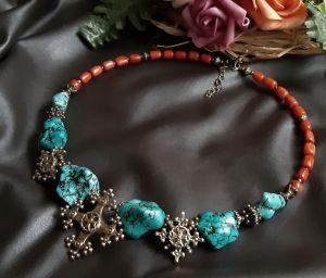 Ожерелья и колье ручной работы Давня згадка