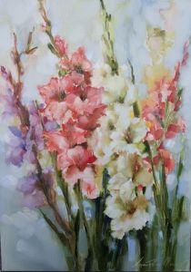Картини маслом Танець квітів