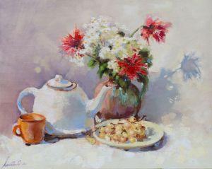 Картины маслом Холодный чай