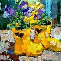 Квіти в гумових чоботах