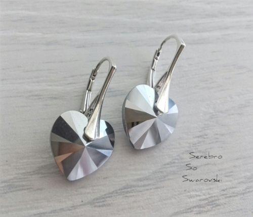 Серебряные серьги Хром