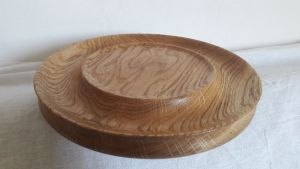 Вироби з дерева ручної роботи Тарілка під паску