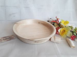 Изделия из дерева ручной работы Тарелка из цельной липы