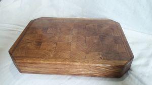 Вироби з дерева ручної роботи Дошка торцева обробна