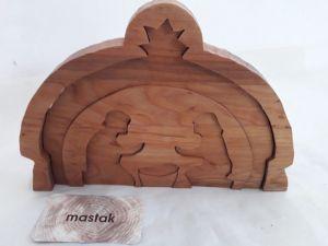 Изделия из дерева ручной работы Вертеп для Рождества