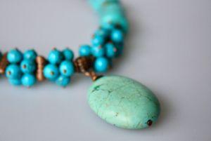 Ожерелье из говлита Оттепель