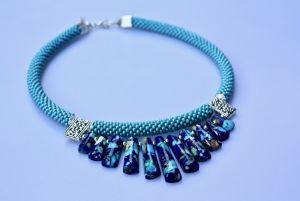 Ожерелье из варисцита Джинс, джинс, джинс