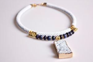 Ожерелье из бисера Кристалл красоты