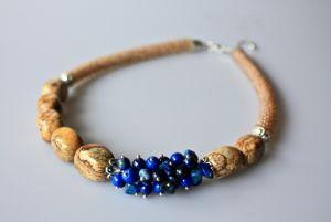 Ожерелье из бисера И еще что-то синее