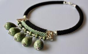 Ожерелье из бисера Природный мир