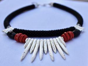 Ожерелье из бисера Истоки