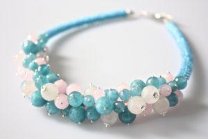 Ожерелье из кварца Воздушность