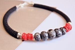 Ожерелье из коралла Идеальный случай