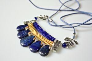 Ожерелье из замши Ручей