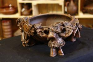Керамика ручной работы Макитра-колядники