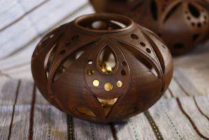 Керамика ручной работы Лампа