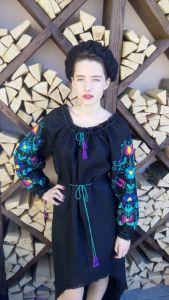 Ручная вышивка, авторская вышивка Цветная