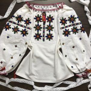 Вышитые рубашки женские Вышивка ручной работы Бисер