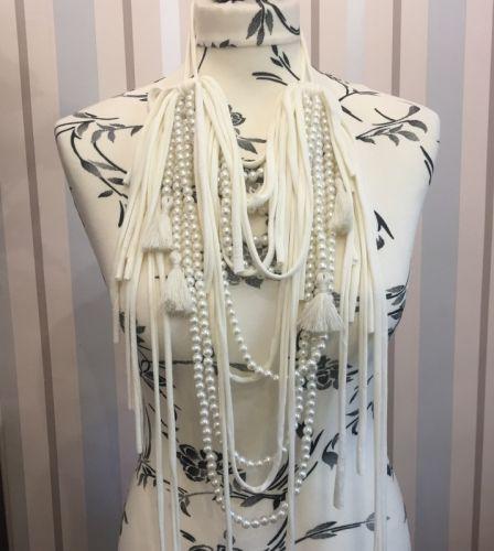Ожерелье перламутровый с кистями