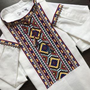 Мужские вышиванки Вышивка ручной работы Гуцульская