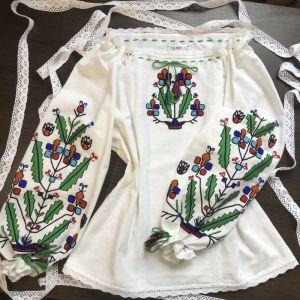 Вышитые рубашки женские Вышивка ручной работы Яркая Красота