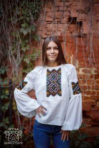 Максимів Ірина Вишиванка біла
