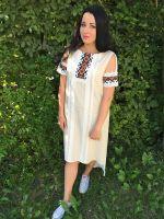 Платье Гуцульское крестик