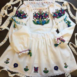 Embroidered apparel - Children Костюмчик для дівчинки Сонячний