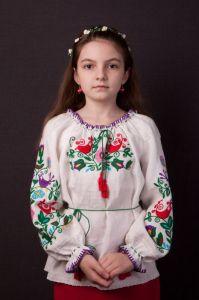 Ручная, авторская вышивка Радуга