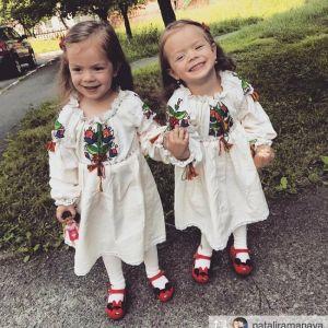 Вышиванки для девочек Платье-вышиванка для девочки весенние