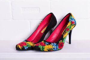 """Женская обувь Комплект """"Полевые цветы"""""""