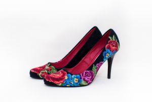 """Взуття ручної роботи Туфлі """"Весняні барви"""""""