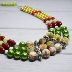Ожерелье из оникса Веселое ожерелье
