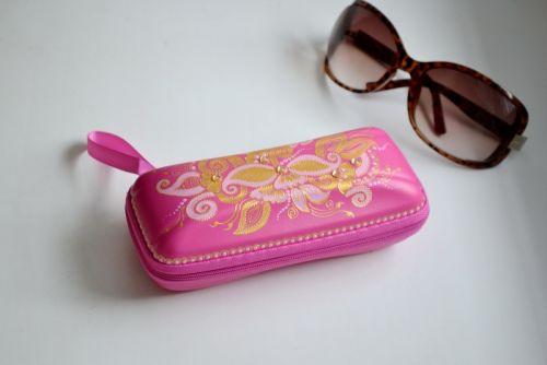 Футляр для солнцезащитных очков Розовый